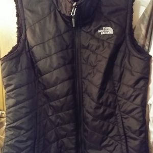 The Northface reversible vest.